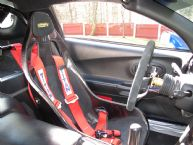 Corvette with a B6 F Tillett Seat